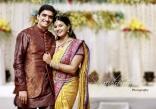 Singer Krishna Chaitanya Anchor Mrudula Engagement Photos