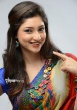 Tanvi Vyas New Cute Saree Photoshoot