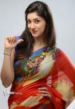 Tanvi Vyas New Hot Saree Photoshoot