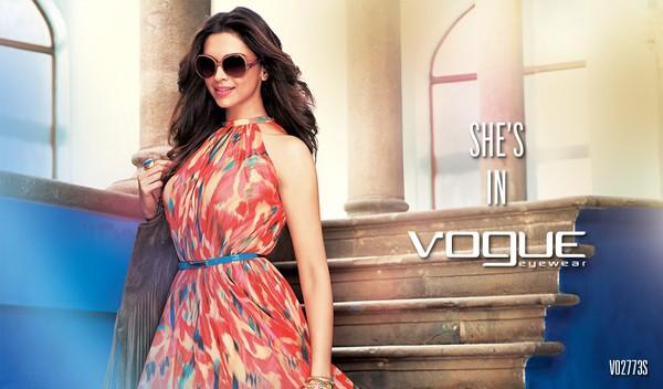 Deepika Padukone Photoshoot For Vogue Eye Care | 25CineFrames
