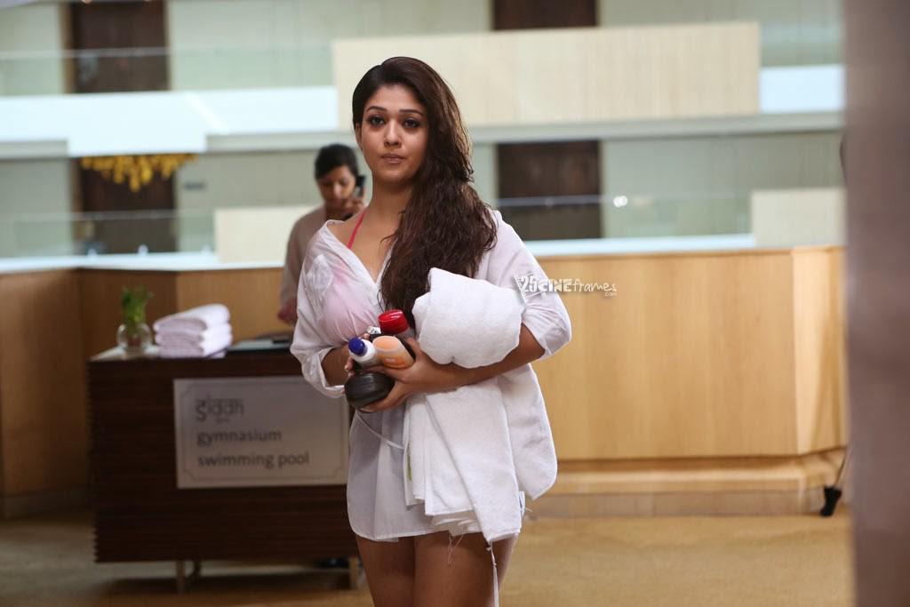 Nayantara Wet Hot Hd Photos In Aarambam 25cineframes