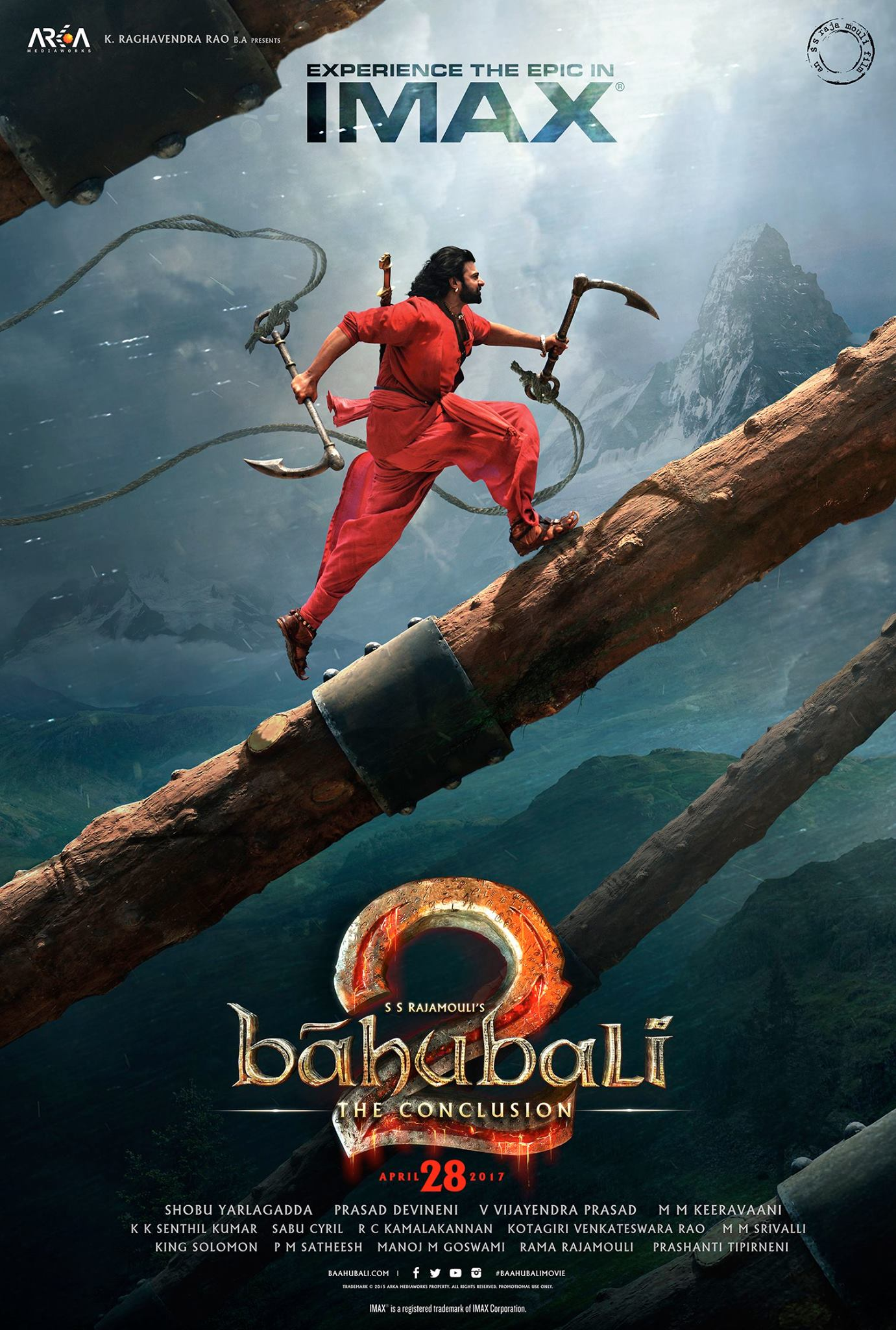 Baahubali new latest ultra hd posters wallpapers prabhas - Movie poster wallpaper ...