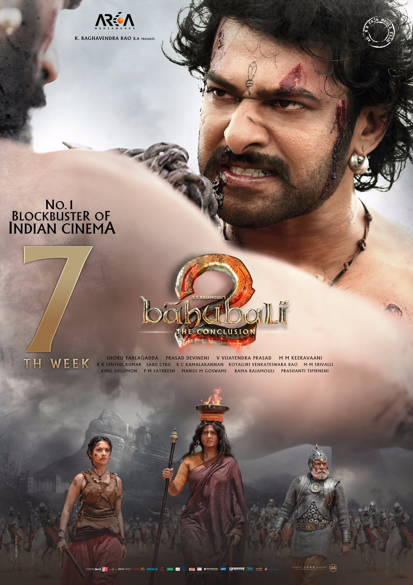 Prabhas Baahubali : The Conclusion Movie Wallpapers Ultra ...