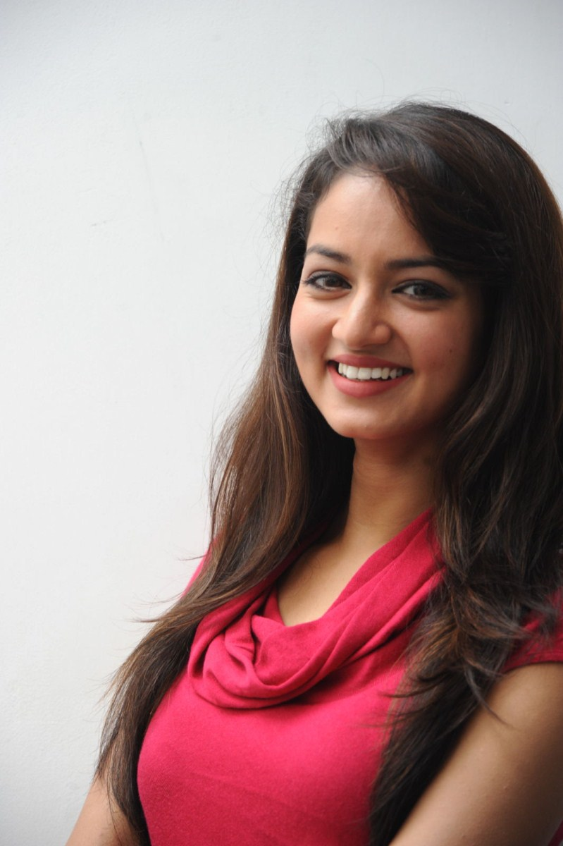 Shanvi Latest Cute Photos In Red Dress 25cineframes