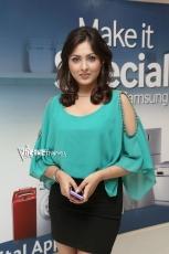 Madhu Shalini new Stills in Green top Black Skirt 25CineFrames