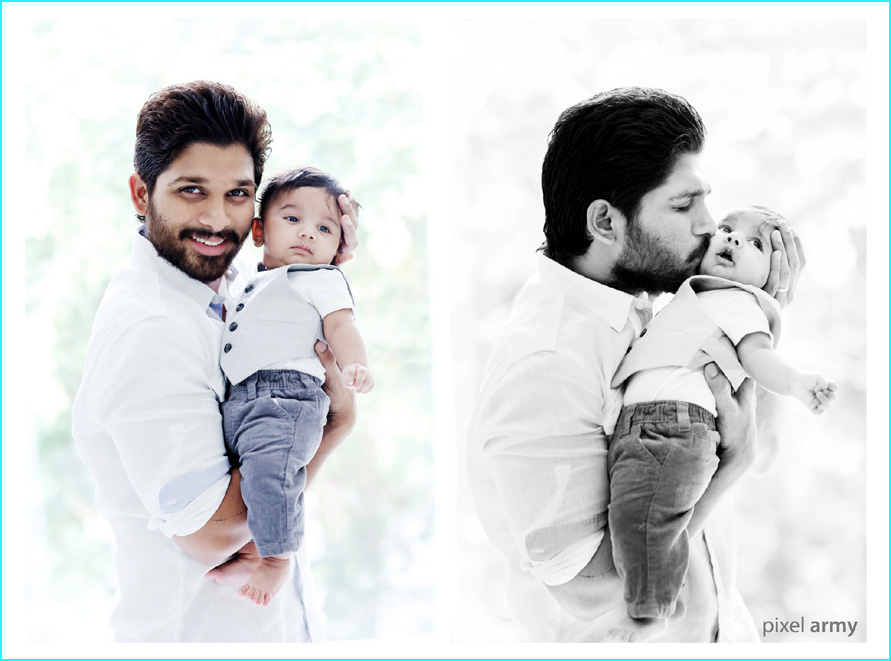 Allu Arjun Sneha Reddy New Born Baby Boy Photos 25cineframes