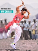 Ram Charan's KV film First Look Birthday Special Photos