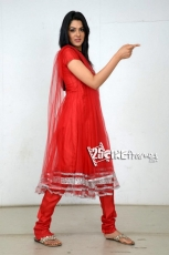 Sakshi Chowdary Latest Hot Photos in Red Dress
