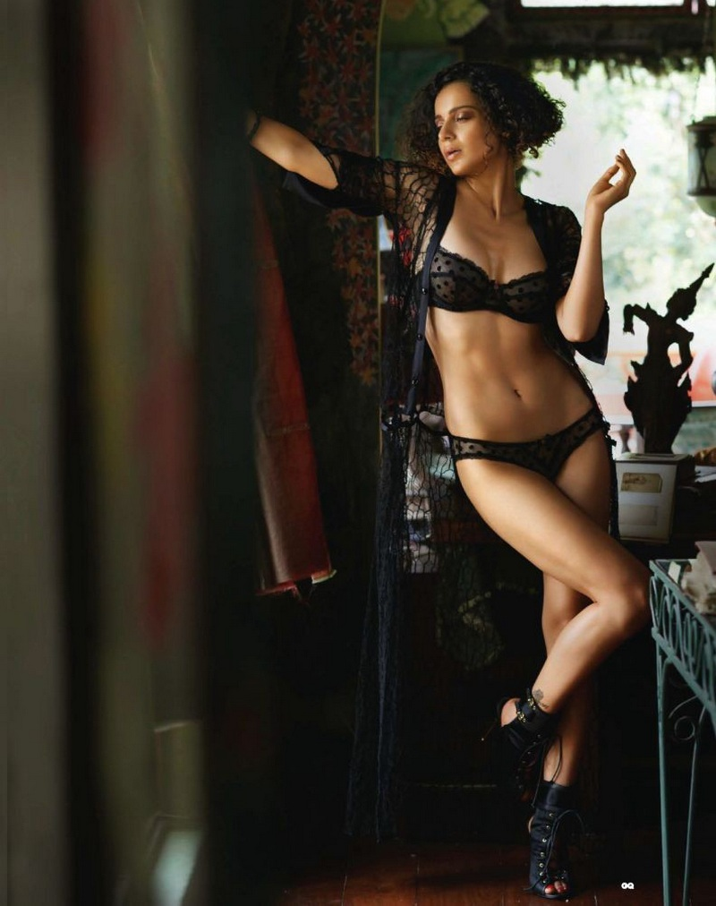 Kangana Ranaut Sexy Filmfare India April Photoshoot