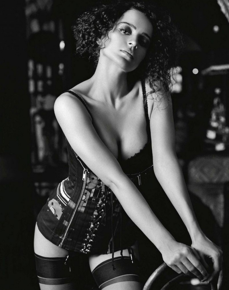 Kangna Ranaut Filmfare Fashion Magazine Hot Photoshoot