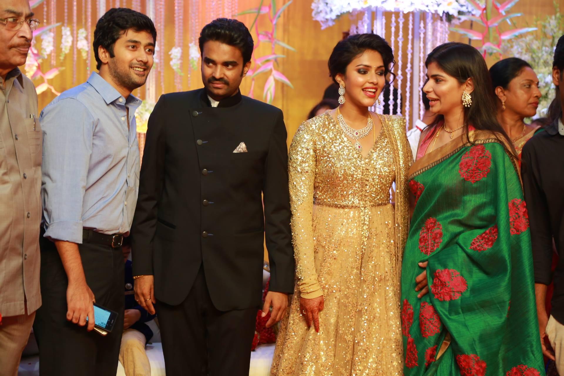 actress amala paul director vijay wedding reception