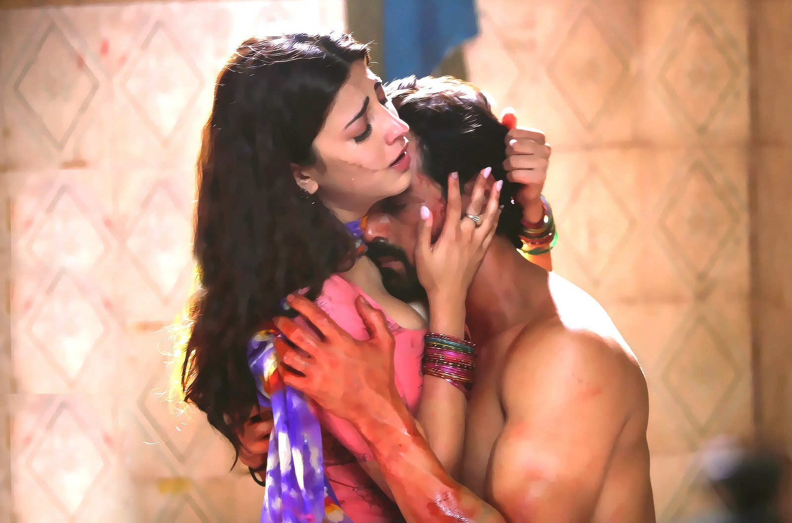 shruti haasan gelupu gurram movie hot stills | 25cineframes
