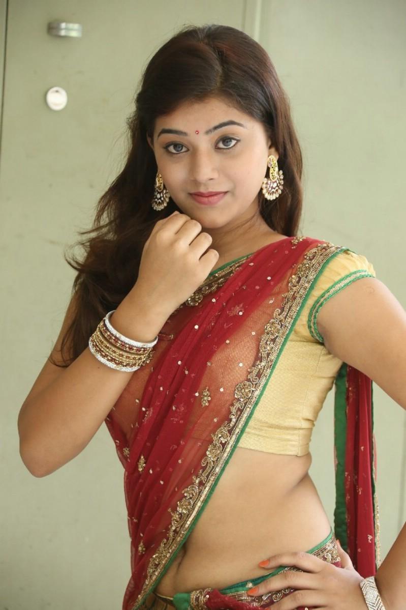 half saree pics