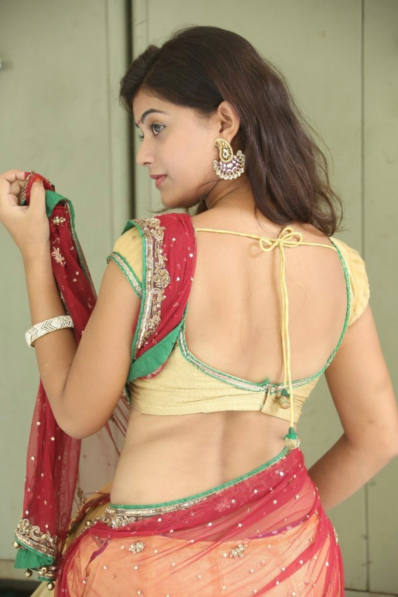 all naked indian woman with half saree by tumblr