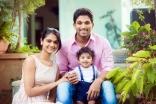 Allu Arjun Sneha Reddy Son Allu Ayaan Latest New HD Photos