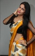 Lavanya Tripathi Yellow Saree Photos at Ala Ela Audio Launch