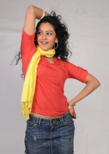 Rakul Preet Singh Photo Shoot Stills in Red T-Shirt and Shorts