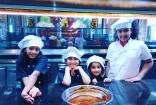 Mahesh Babu's Daughter Sitara Ghattamaneni Chocolate Makers Chocolate making Pics New Latest Photos
