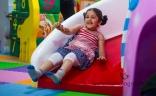 Mahesh Babu's Daughter Sitara Ghattamaneni Playing Slides New Latest Photos