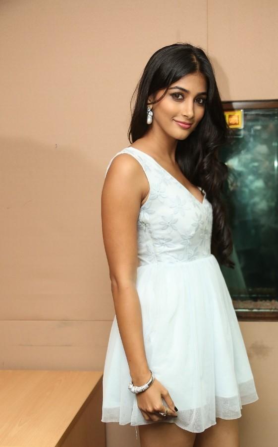 Pooja Hegde Latest White Frock Skirt HD Photos | 25CineFrames