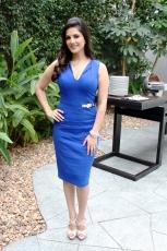 Sunny Leone Hot PhotoShoot Photos in Blue