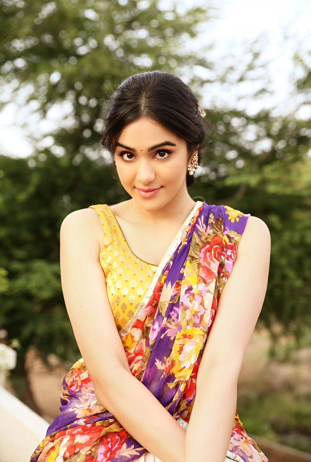 Adah Sharma Latest Hot Half Saree Photoshoot Hd Photos