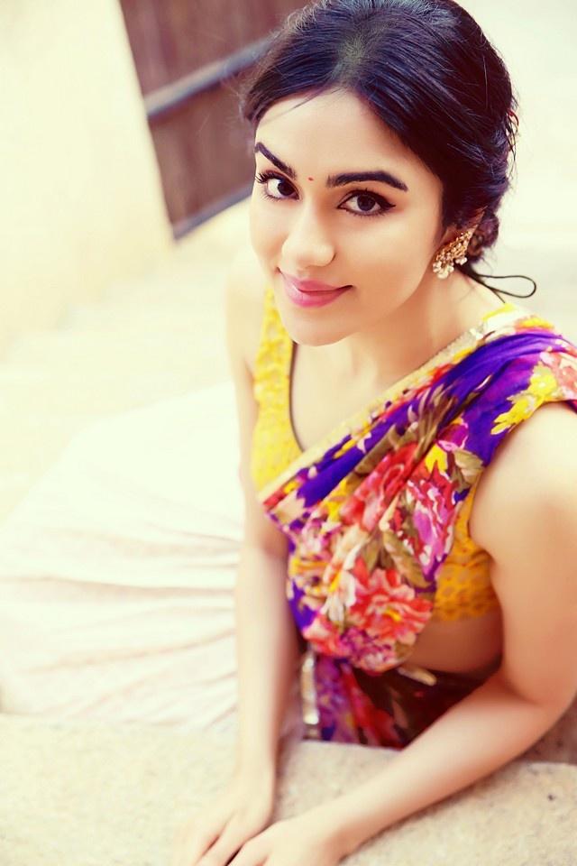 Adah Sharma Latest Hot Half Saree Photoshoot Hd Photos