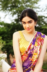 Adah Sharma Latest Hot Half Saree Photoshoot HD Photos Stills