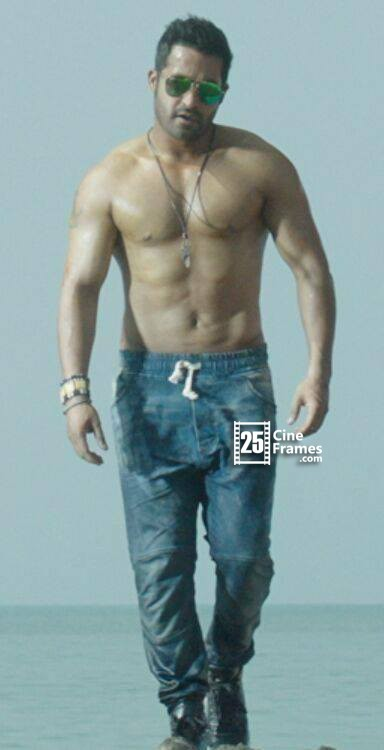 Jr Ntr Six Pack Temper Kajal Stills Puri Jagannadh Movie First Look Images Leaked Agarwal Latest Hd Hot