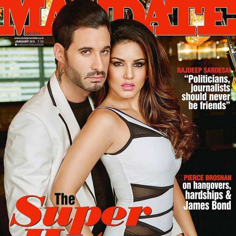 Sunny Leone Hot Photo Shoot Poses For Mandate Magazine  25Cineframes-8543
