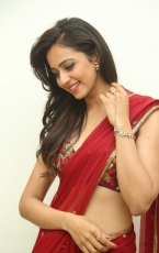 Rakul Preet Singh in Red Saree Latest Photos HD Stills