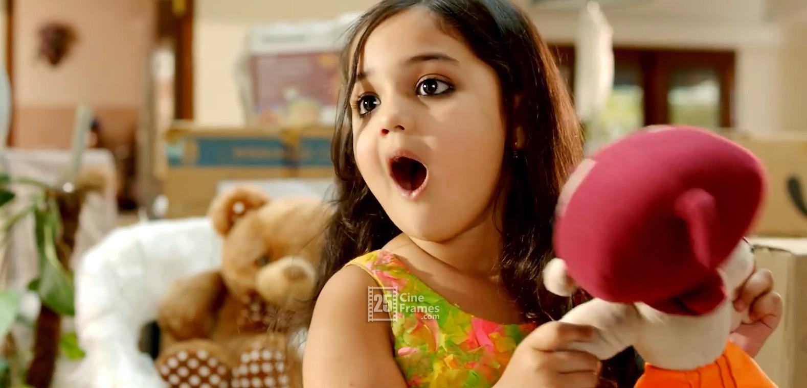 son of satyamurthy little cute girl baby vernika unseen photos