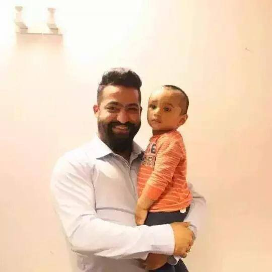 Jr Ntr Lakshmi Pranathi Son Abhay Ram Nandamuri Latest New