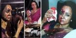 Hema Malini Car Accident Photos