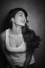 Jacqueline Fernandez Hot  Photo Shoot Photos in Black and White