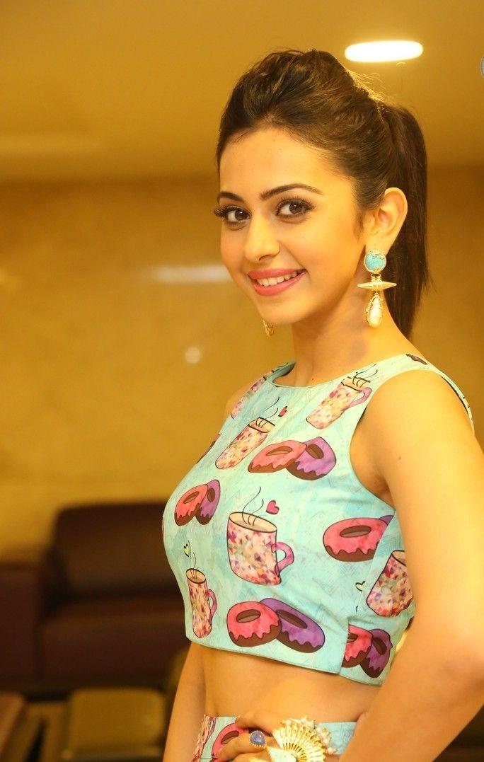 Rakul Preet Singh New Cute Photos In Cartoon Dress