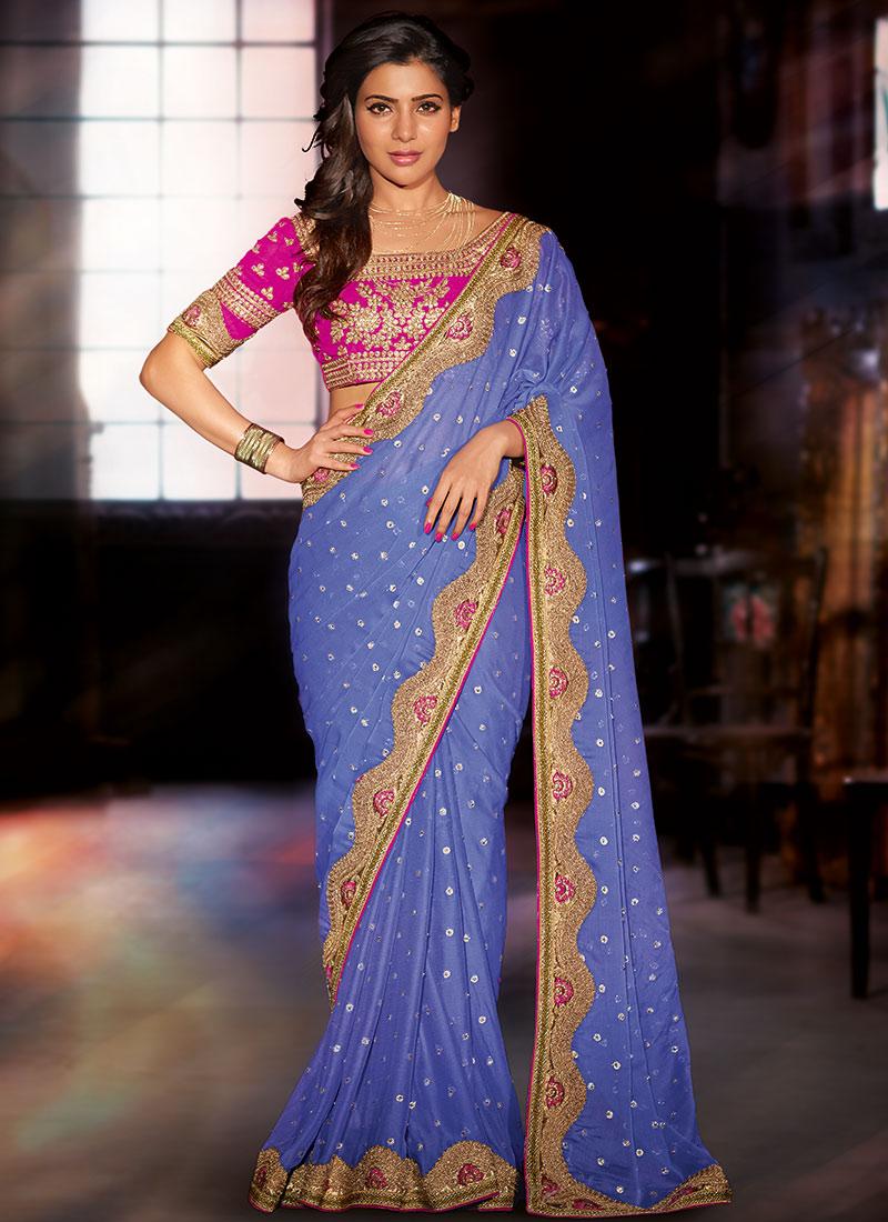 Samantha Ruth Prabhu Latest Saree Photoshoot Stills Gallery Photos ...