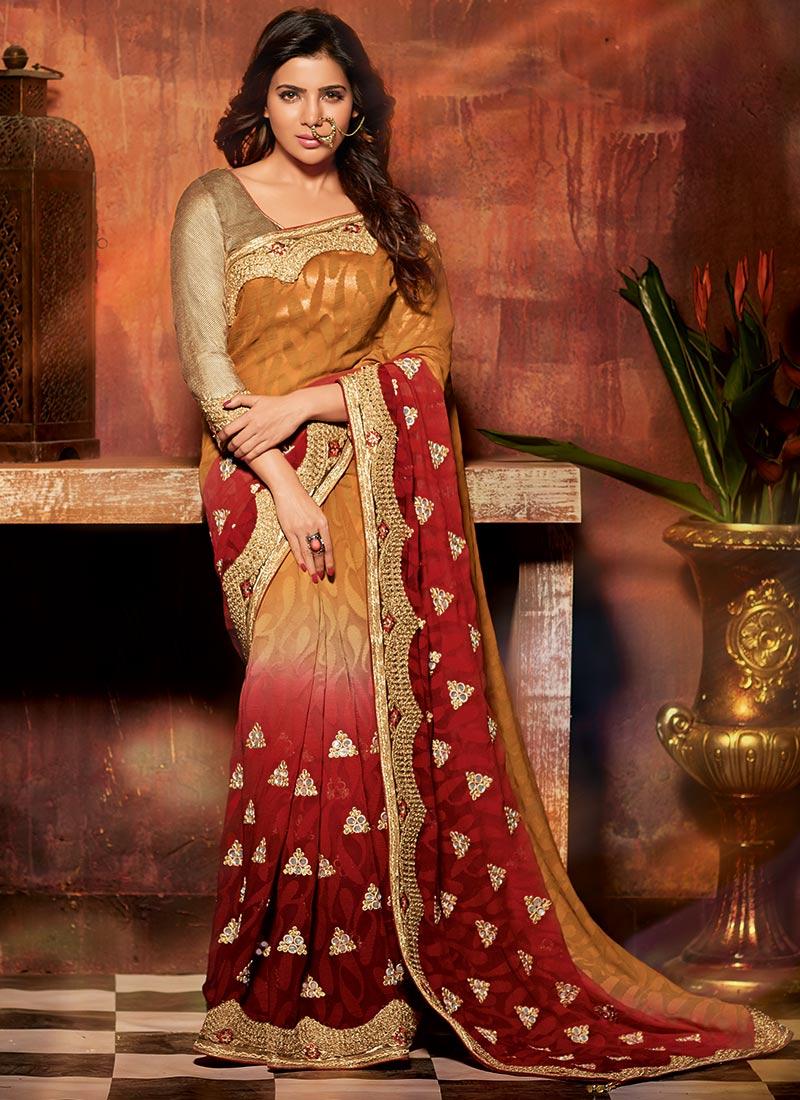 samantha ruth prabhu latest saree photoshoot stills