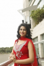 Actress Shamili Latest Beautiful Photos in Red Chudidar Dress, Stills, Pictures, Pics, Gallery