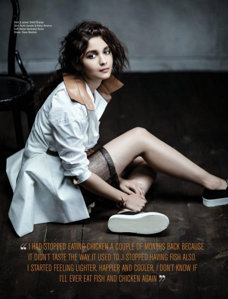 Alia Bhatt Hot Photo Shoot poses for Filmfare Magazine HD Photos