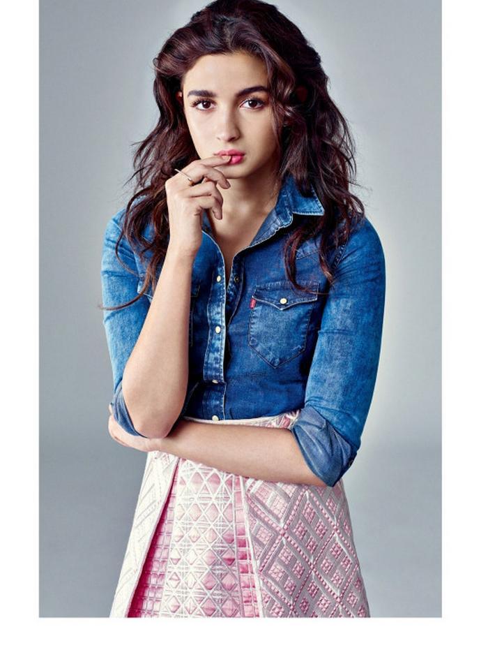 Alia Bhatt Hot Photo Shoot Poses for Harper's Bazaar Magazine HD ...