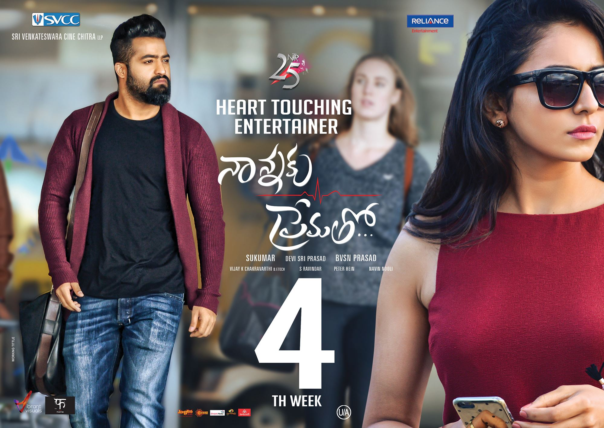 Jr NTR Nannaku Prematho Movie First Look ULTRA HD Posters, WallPapers |  25CineFrames