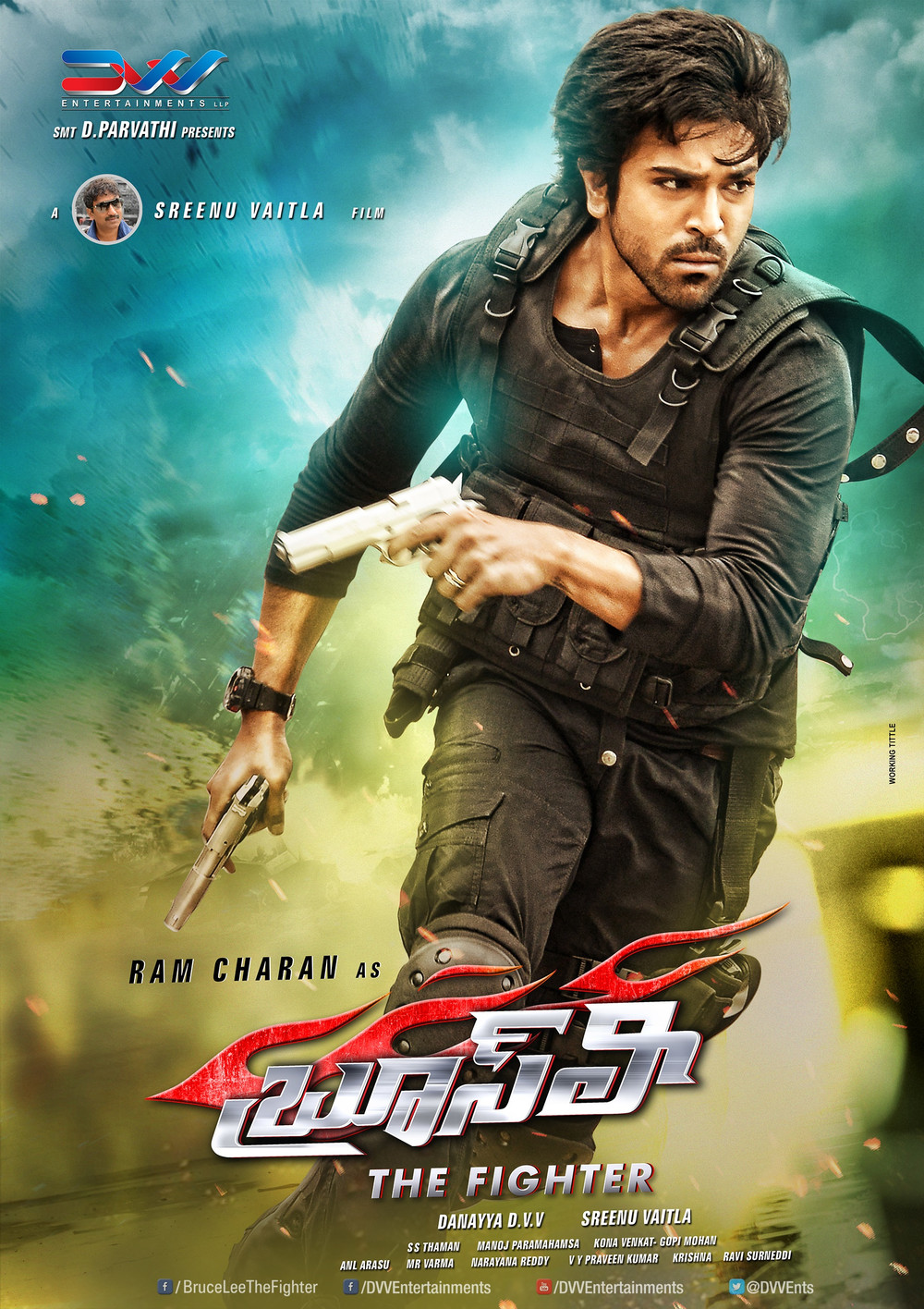 Ram Charan Bruce Lee Movie Latest New Ultra Hd Posters Wallpapers