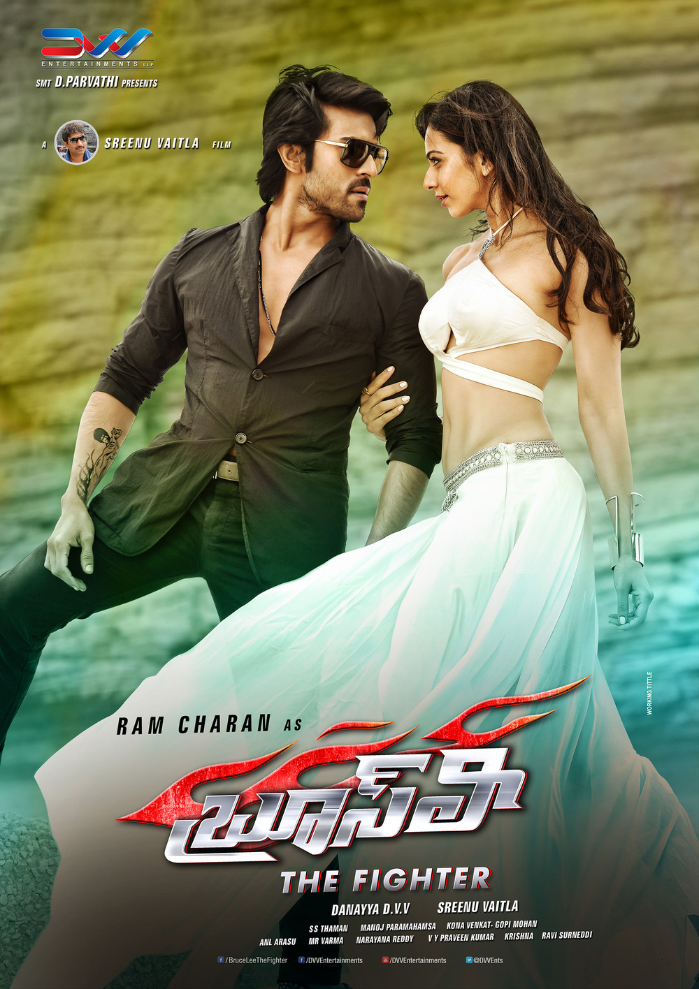 Ram Charan Bruce Lee Movie Latest New Ultra Hd Posters