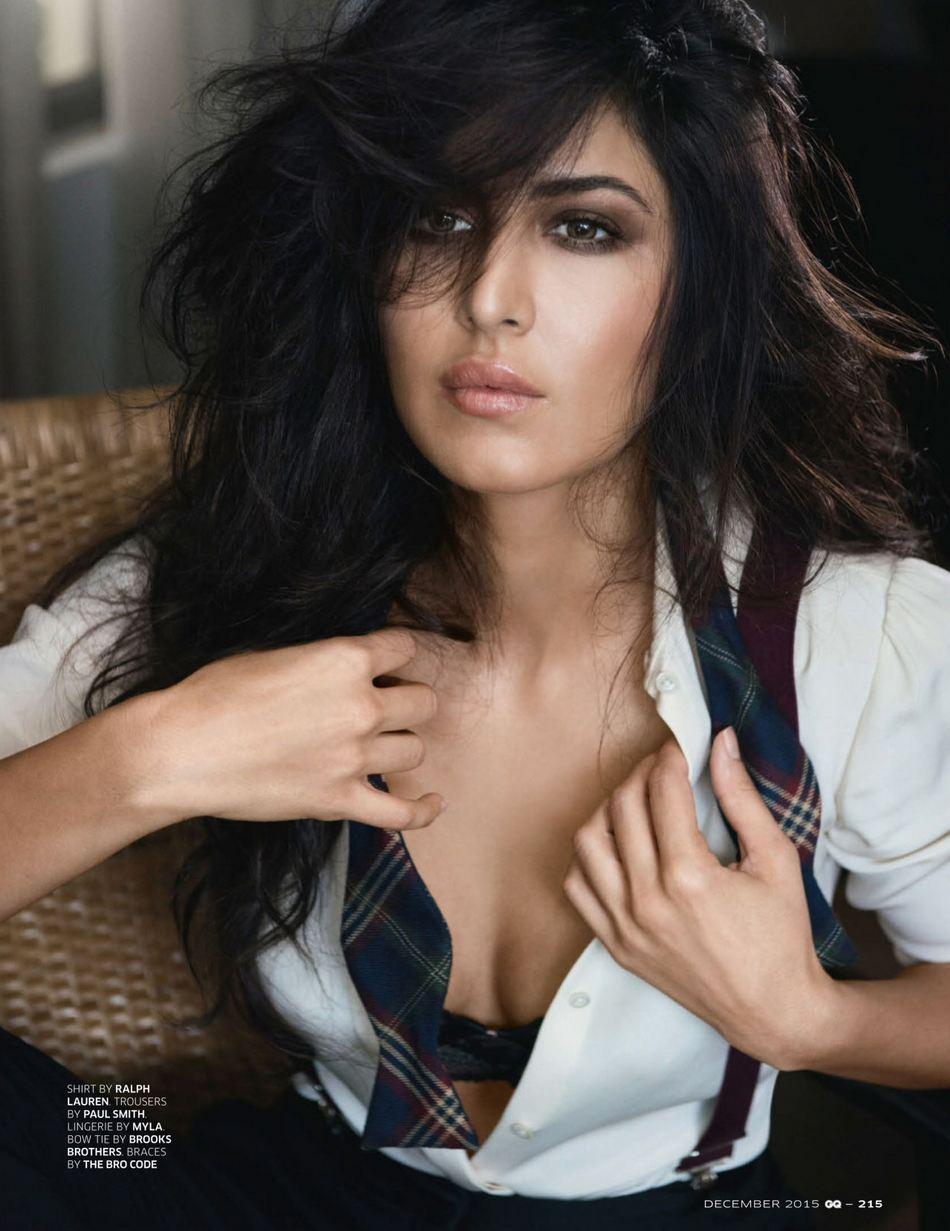 Katrina Kaif Hot Photo Shoot Photos For Gq Magazine 2015 Images Poses Stills Gallery -6412