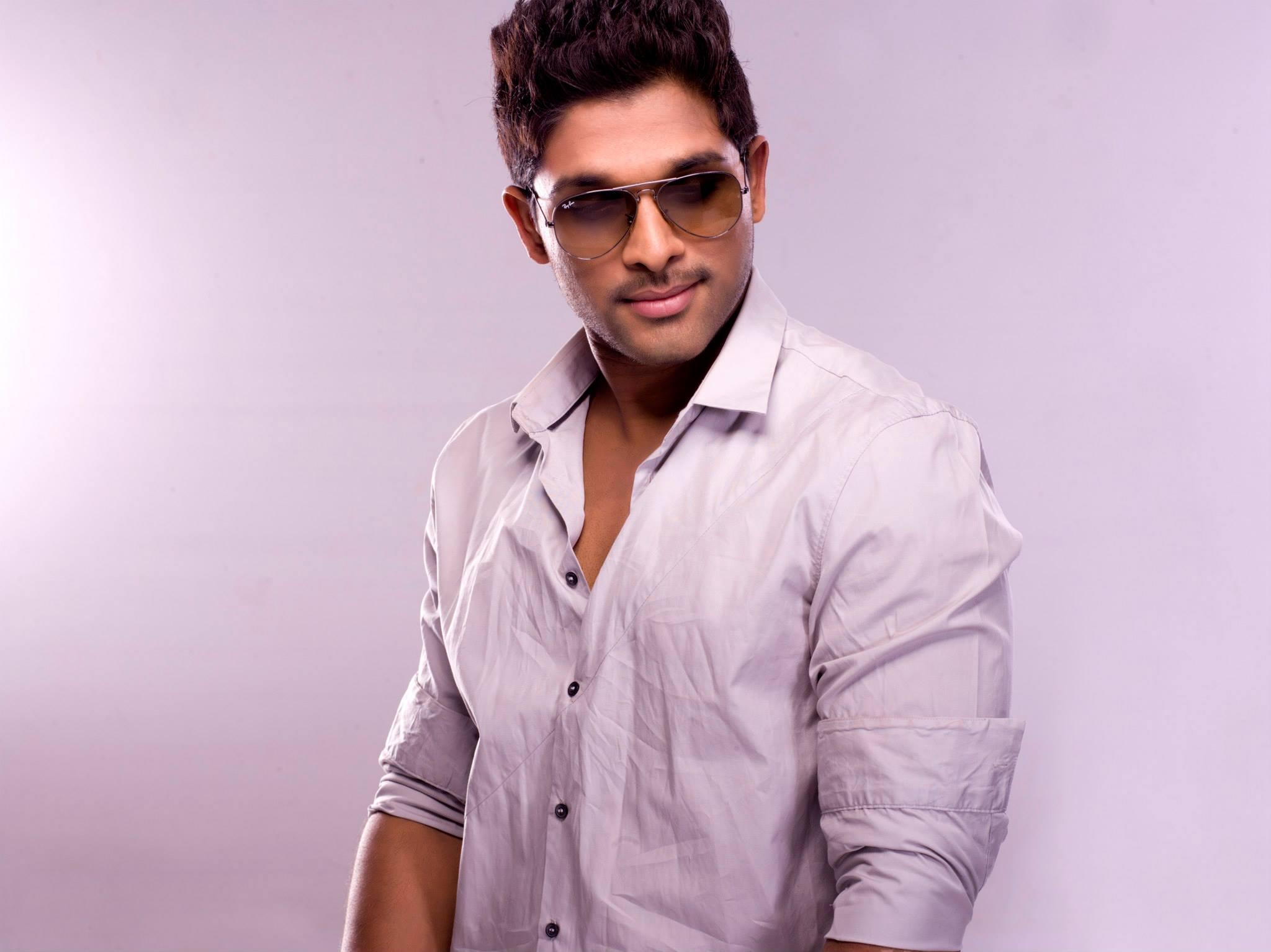 Allu Arjun Latest Photo Shoot New Hd Photos Stylish Star