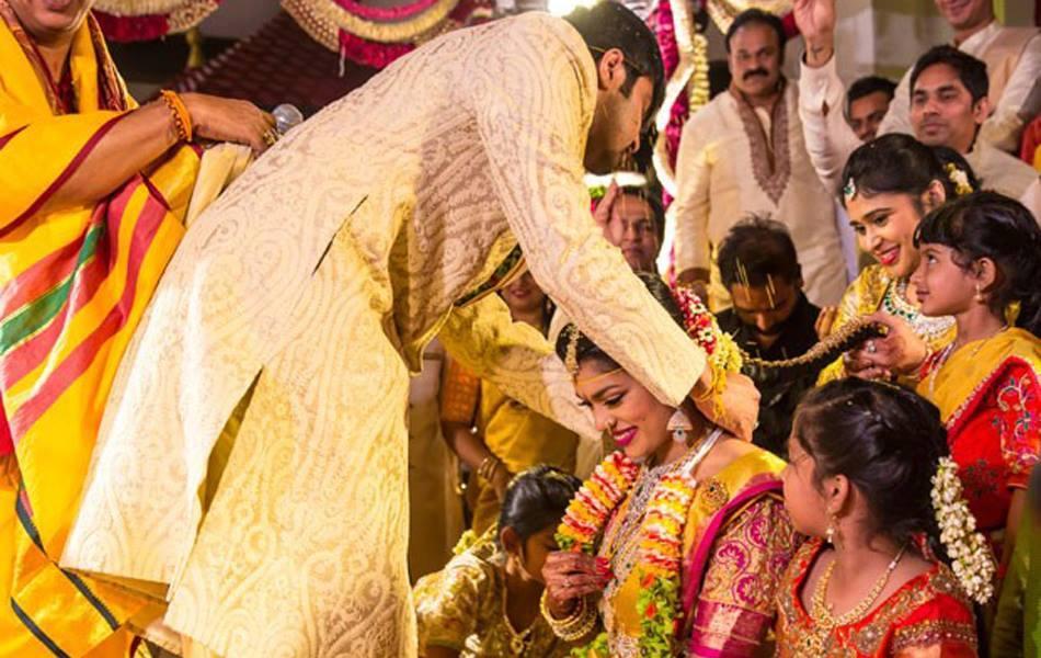 Megastar Chiranjeevi Daughter Sreeja And Kalyan Marriage