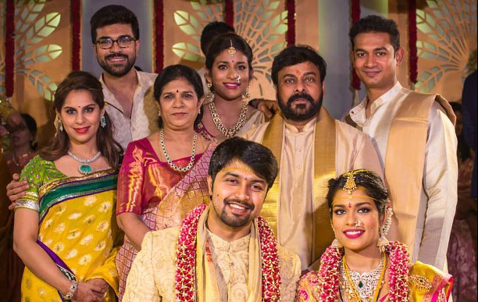 Megastar Chiranjeevi Daughter Sreeja And Kalyan Marriage