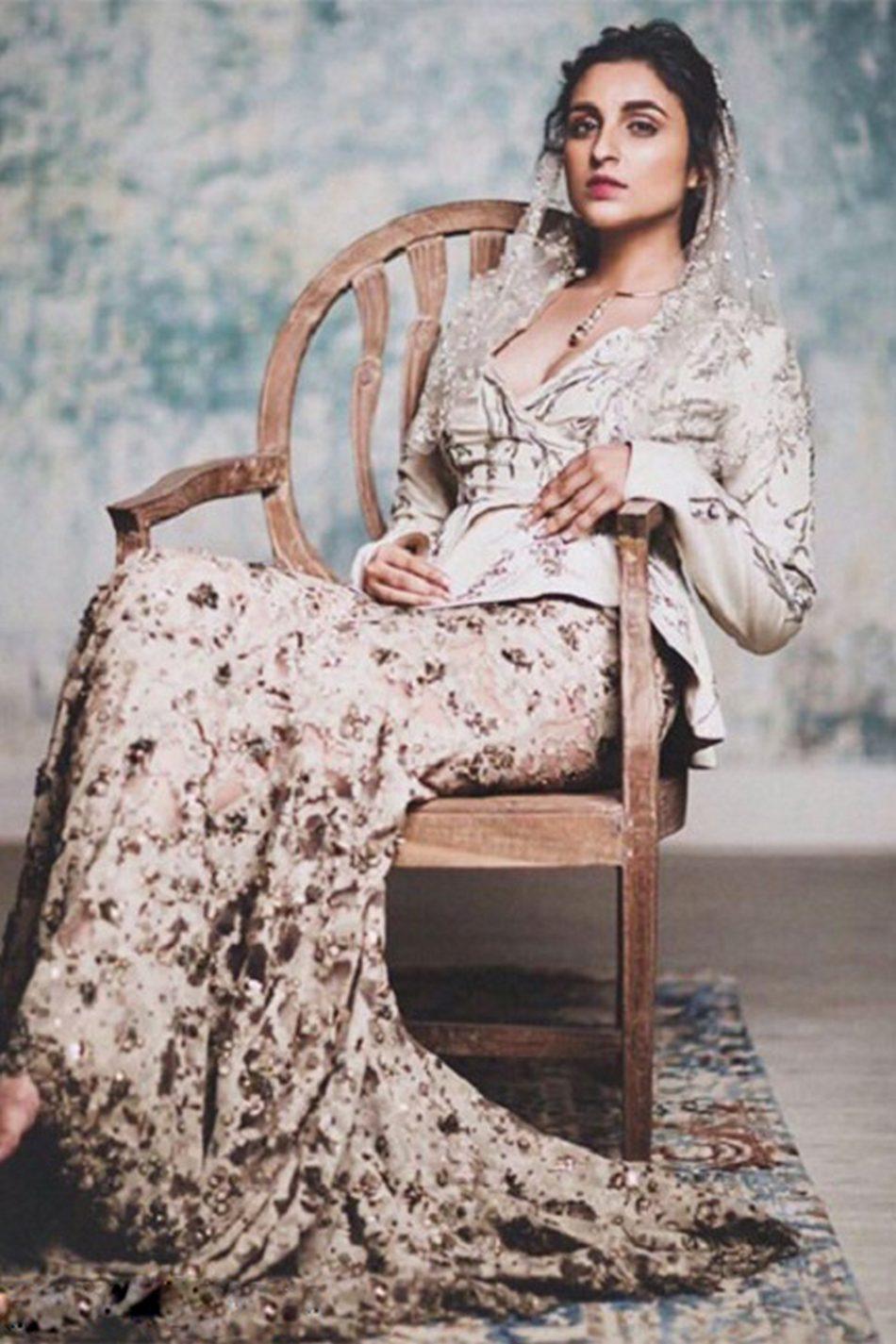 parineeti chopra hot photo shoot for bazaar bride magazine hd photos