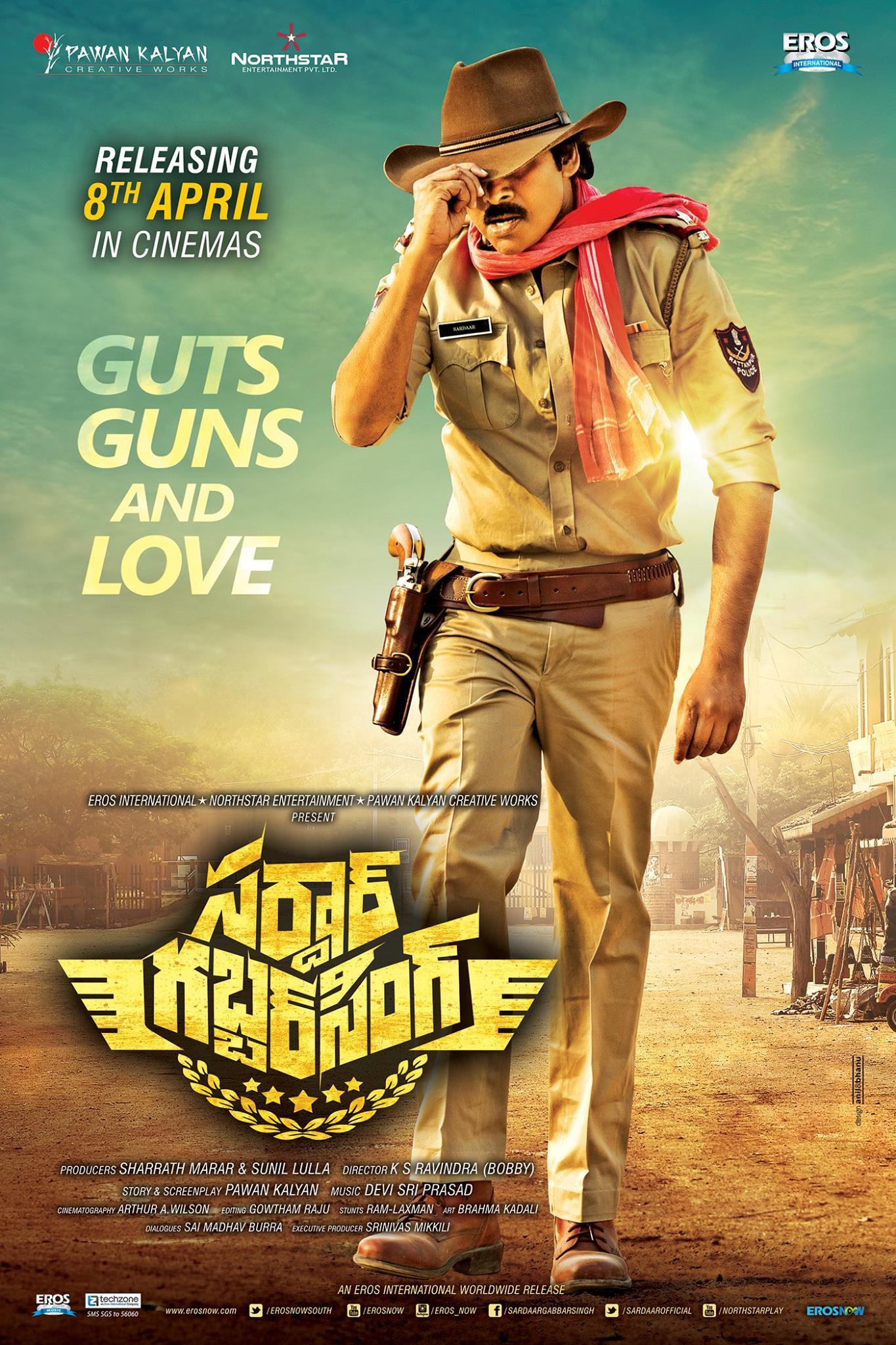 Sardar Gabbar Singh Movie Ultra Hd Posters Wallpapers